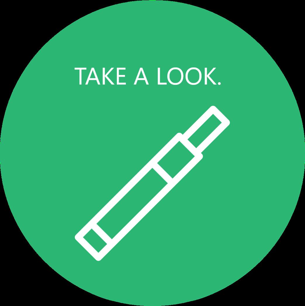 vaping button