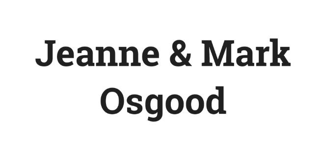 Osgood sponsor